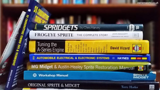 spridget book stack