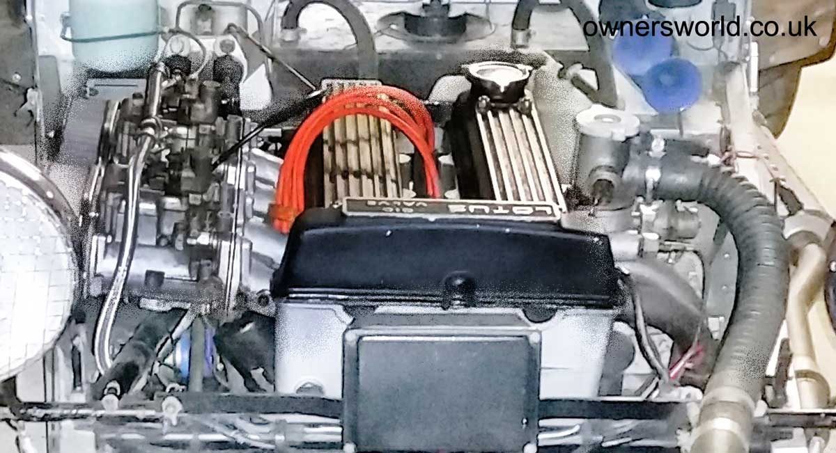 Lotus Twin Cam Engine