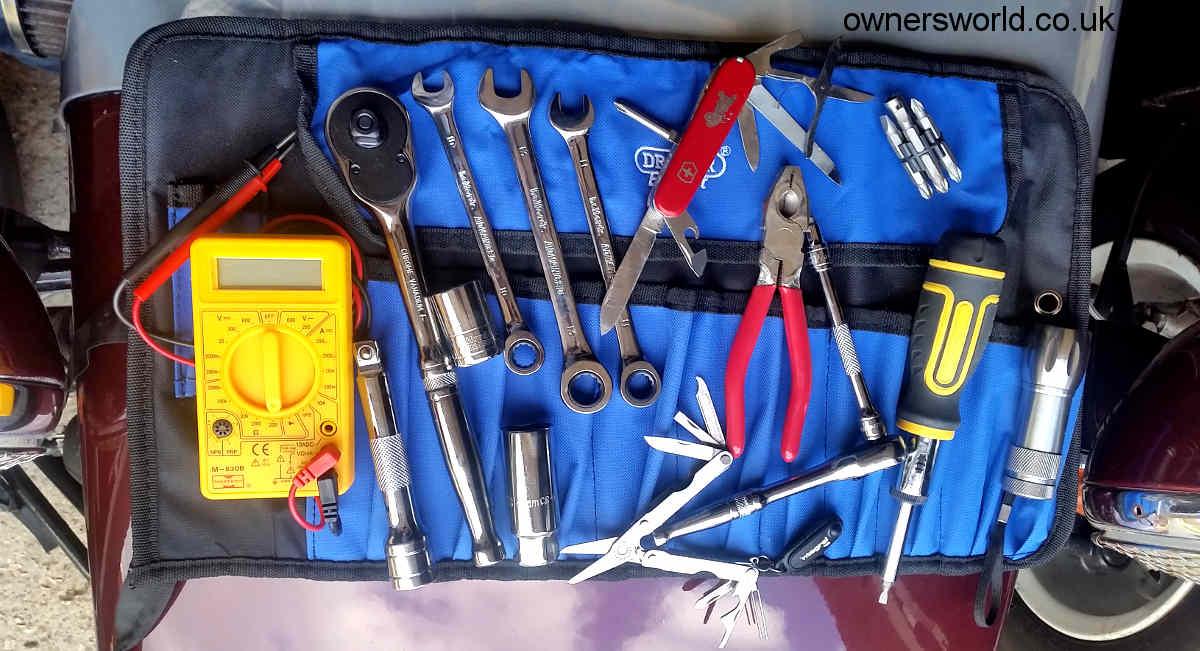 Classic car tool kit